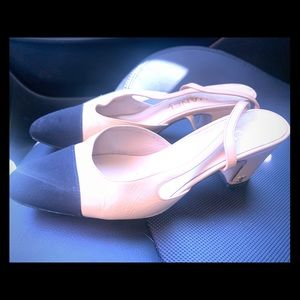 Chanel sling back!! The most desired shoe